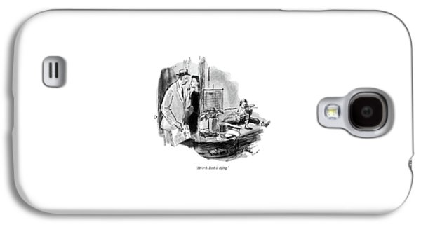 Sh-h-h. Beth Is Dying Galaxy S4 Case by Perry Barlow