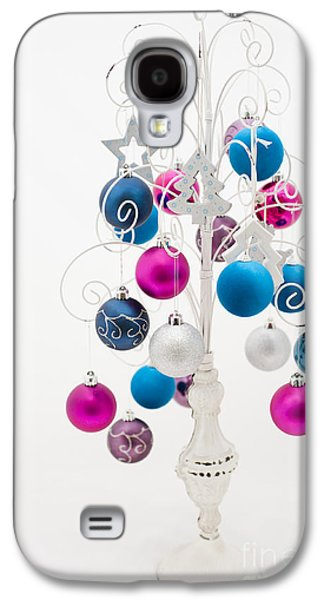 Shabby Chic Christmas Galaxy S4 Case by Anne Gilbert