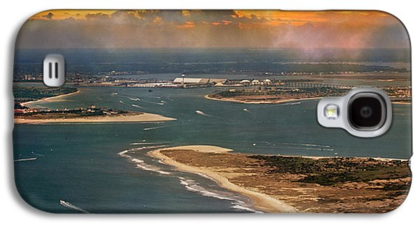 Shackleford Banks Fort Macon North Carolina Galaxy S4 Case by Betsy Knapp