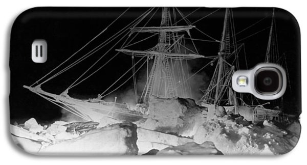 Shackleton's Ship, Endurance Galaxy S4 Case by Underwood Archives