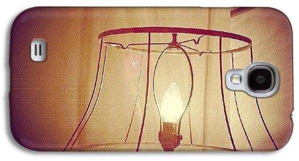 Light Galaxy S4 Case - Shadeless Lamp  by Jill Tuinier