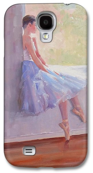 Shades Of Lavender Two Galaxy S4 Case by Laura Lee Zanghetti