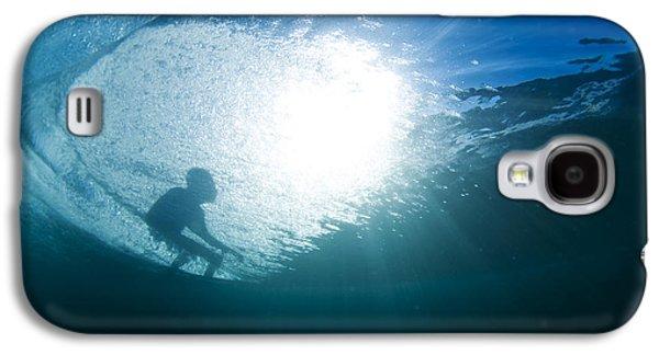 Shadow Surfer Galaxy S4 Case by Sean Davey