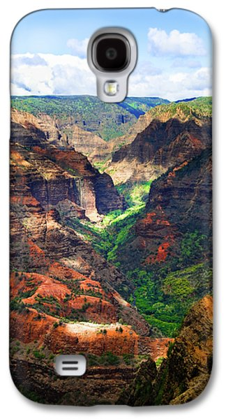 Shadows Of Waimea Canyon Galaxy S4 Case