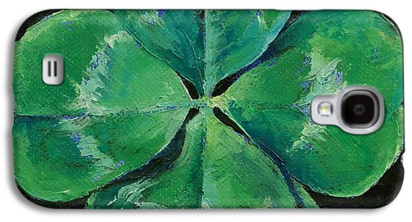 Shamrock Galaxy S4 Case by Michael Creese