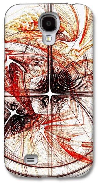 Shapes And Symbols Galaxy S4 Case by Anastasiya Malakhova
