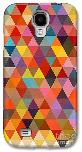 Shapes Galaxy S4 Case by Mark Ashkenazi