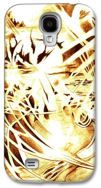 Shards Of A Sunset Galaxy S4 Case