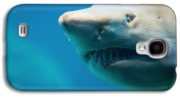Bull Galaxy S4 Case - Shark by Johan Swanepoel