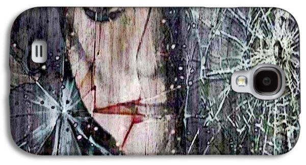 Shattered And Broken Galaxy S4 Case by Linda Sannuti