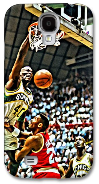 Shawn Kemp Painting Galaxy S4 Case