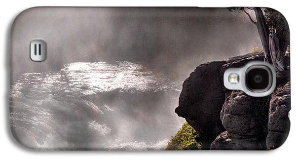 Sheep Falls Mist Galaxy S4 Case by Leland D Howard