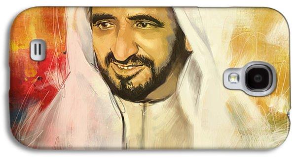 Sheikh Rashid Bin Saeed Al Maktoum Galaxy S4 Case by Corporate Art Task Force