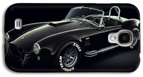 Cobra Galaxy S4 Case - Shelby Cobra 427 - Ghost by Marc Orphanos
