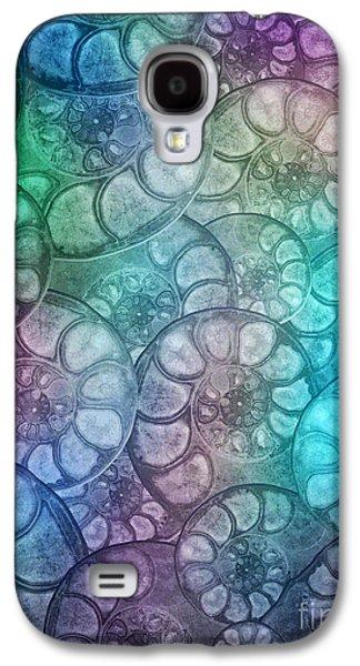 Shell Fossils Galaxy S4 Case by Klara Acel