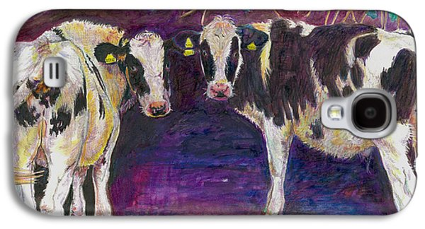 Sheltering Cows Galaxy S4 Case by Helen White