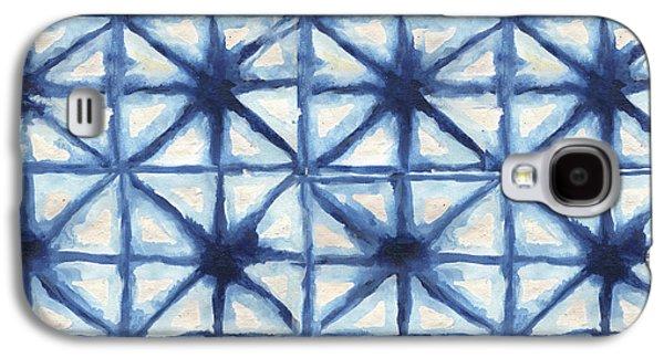 Shibori Iv Galaxy S4 Case by Elizabeth Medley