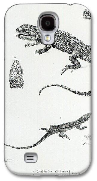 Shingled Iguana Galaxy S4 Case by English School