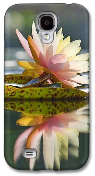 Shining Water Lily Galaxy S4 Case