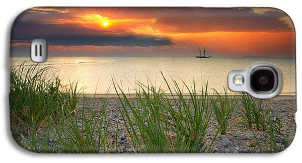 Ship Passing Through Galaxy S4 Case by Darylann Leonard Photography