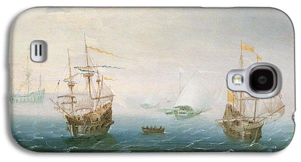 Shipping On Stormy Seas Galaxy S4 Case by Aert van Antum