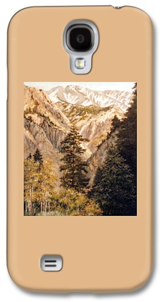 Shirley Temple Mine Galaxy S4 Case by Donna Tucker