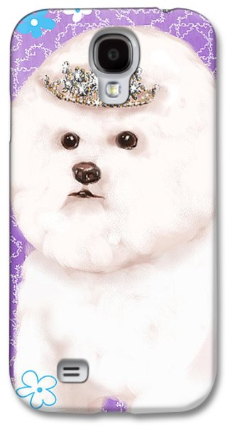 Show Dog Bichon Frise Galaxy S4 Case by Shari Warren