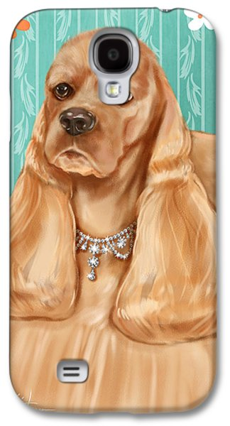 Show Dog Cocker Spaniel Galaxy S4 Case by Shari Warren