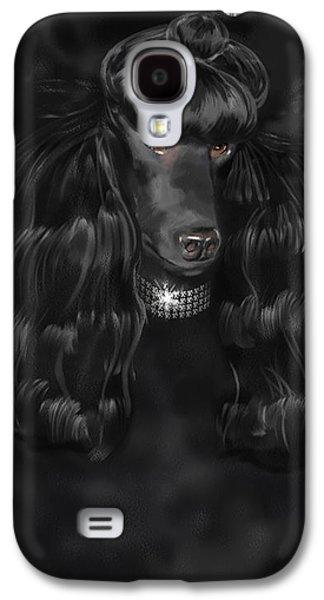 Show Dog Poodle Galaxy S4 Case by Shari Warren