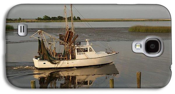 Shrimp Boat On Apalachicola Bay Galaxy S4 Case