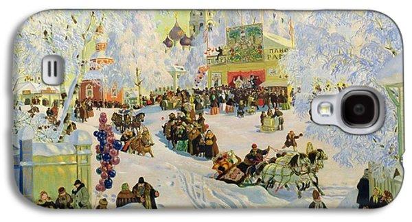 Shrove-tide Galaxy S4 Case by Boris Mikhailovich Kustodiev
