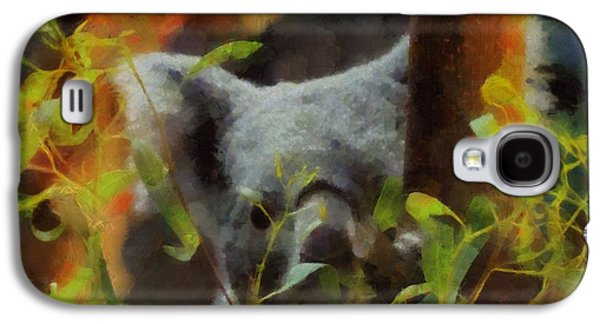 Shy Koala Galaxy S4 Case by Dan Sproul