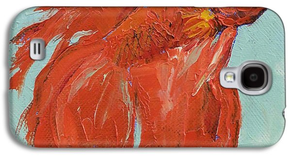 Siamese Fighting Fish Galaxy S4 Case by Michael Creese