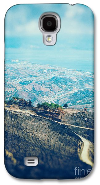 Galaxy S4 Case featuring the photograph Sicilian Land After Fire by Silvia Ganora