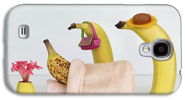Banana Galaxy S4 Case - Sick Banana by Jacqueline Hammer