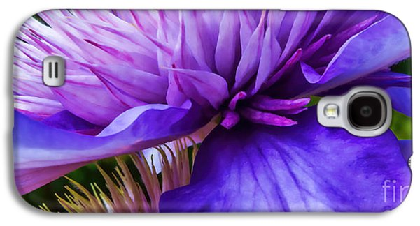 Side View Clematis Galaxy S4 Case