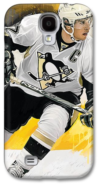 Sidney Crosby Artwork Galaxy S4 Case