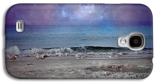 Siesta Key Moon In My Pocket Galaxy S4 Case by Betsy Knapp