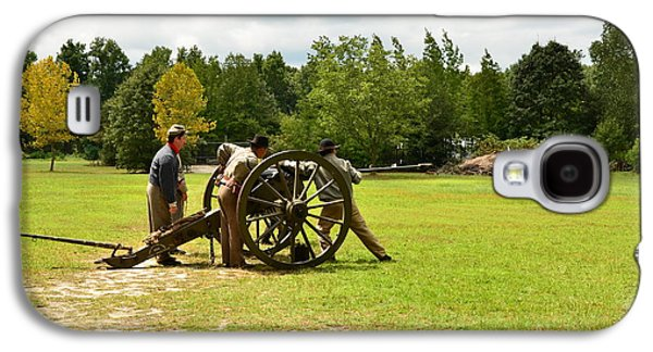 Sighting In Of A Civil War Canon Galaxy S4 Case by Bob Sample