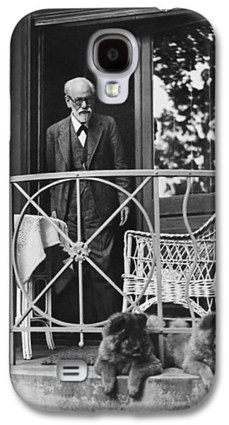 Sigmund Freud With His Chows Galaxy S4 Case