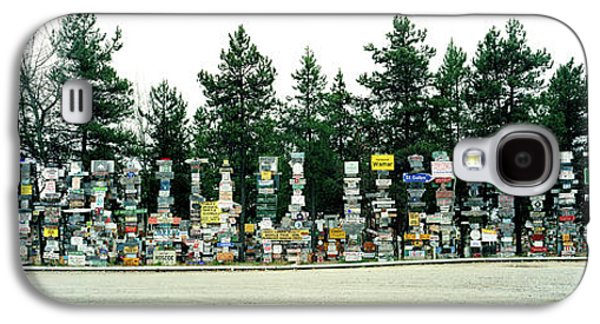 Signposts At The Roadside, Sign Post Galaxy S4 Case by Panoramic Images