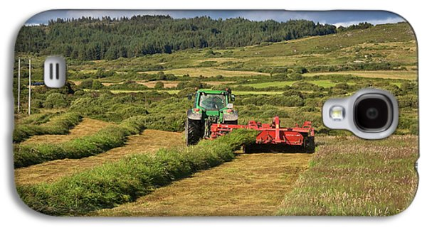 Silage Making,near Bantry,county Cork Galaxy S4 Case