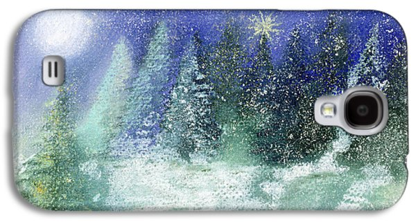 Silent Night Galaxy S4 Case by Sophia Elliot