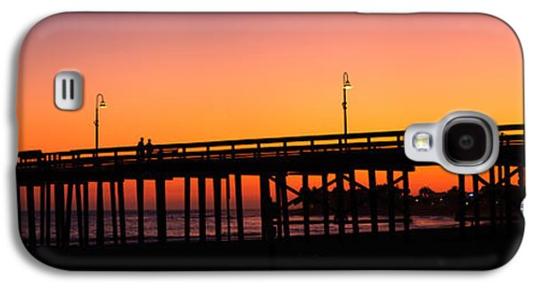 Silhouette Of A Pier At Sunset Galaxy S4 Case