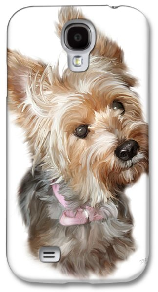 Silky Terrier Galaxy S4 Case by Paul Tagliamonte