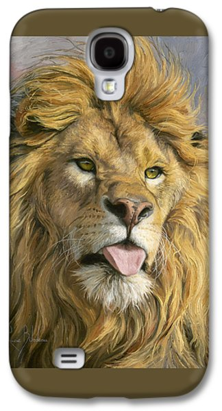 Silly Face Galaxy S4 Case by Lucie Bilodeau