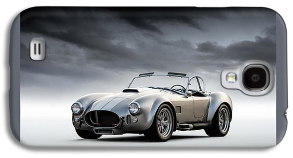 Silver Ac Cobra Galaxy S4 Case by Douglas Pittman