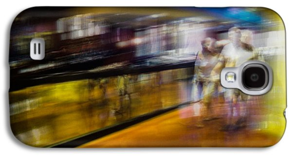 Galaxy S4 Case featuring the photograph Silver People In A Golden World by Alex Lapidus