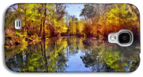 Silver River Colors Galaxy S4 Case by Christine Till