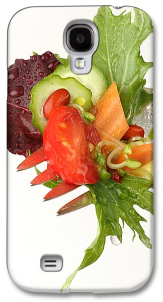 Lettuce Galaxy S4 Case - Silver Salad Fork by Iris Richardson